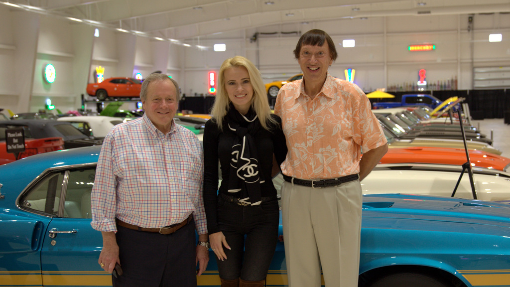Edsel B Ford Ii Visits The American Muscle Car Museum
