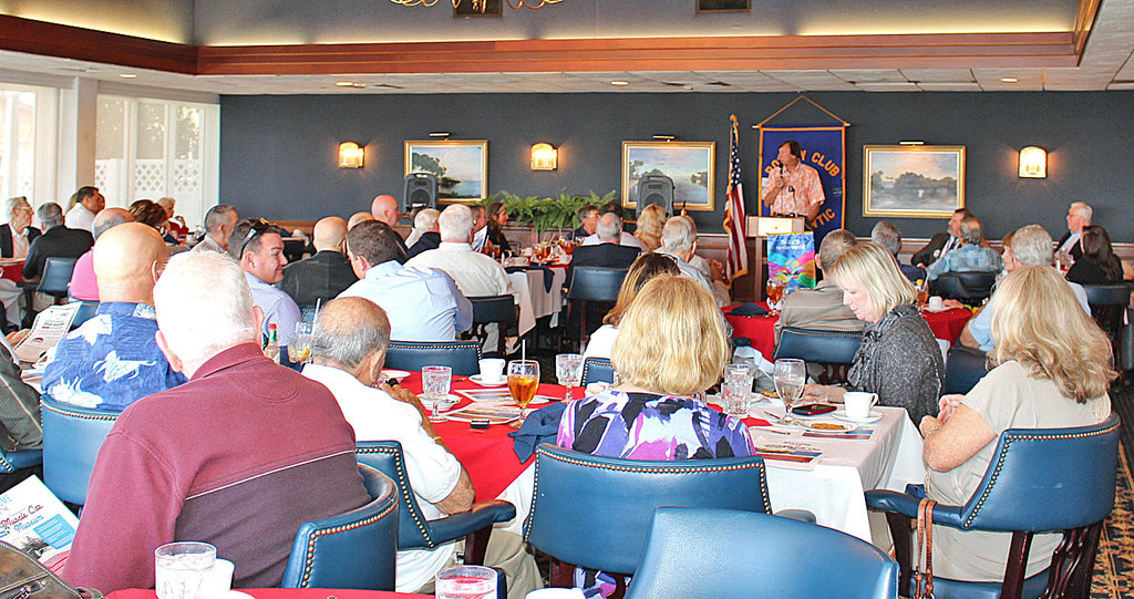 Rotary Meeting Speaker at Eau Gallie Yacht Club - January 11, 2017