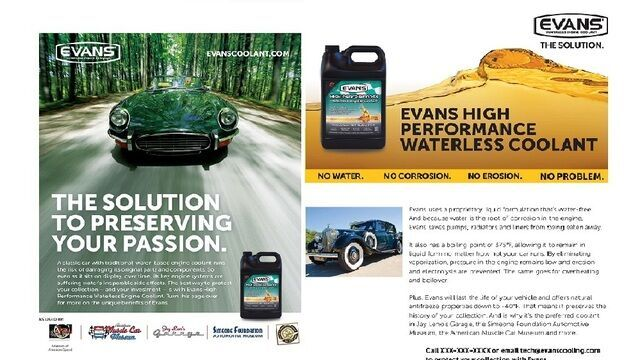 Evans Coolant Management Tour - December 13, 2016