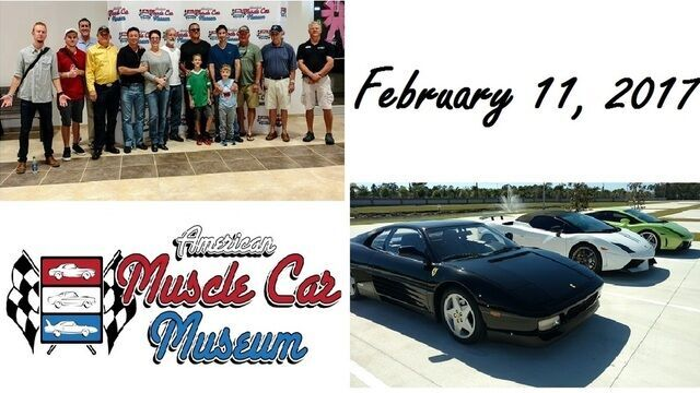 Exotic Car Association & Hollywood Wheels Tour - February 11, 2017