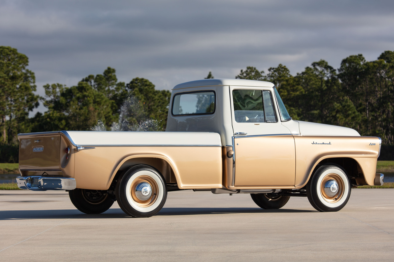 history of international pickup trucks