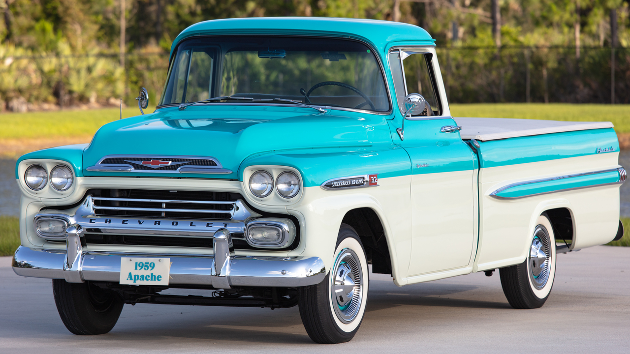 1959 Chevrolet Apache Series 3100 1/2 Ton Pickup