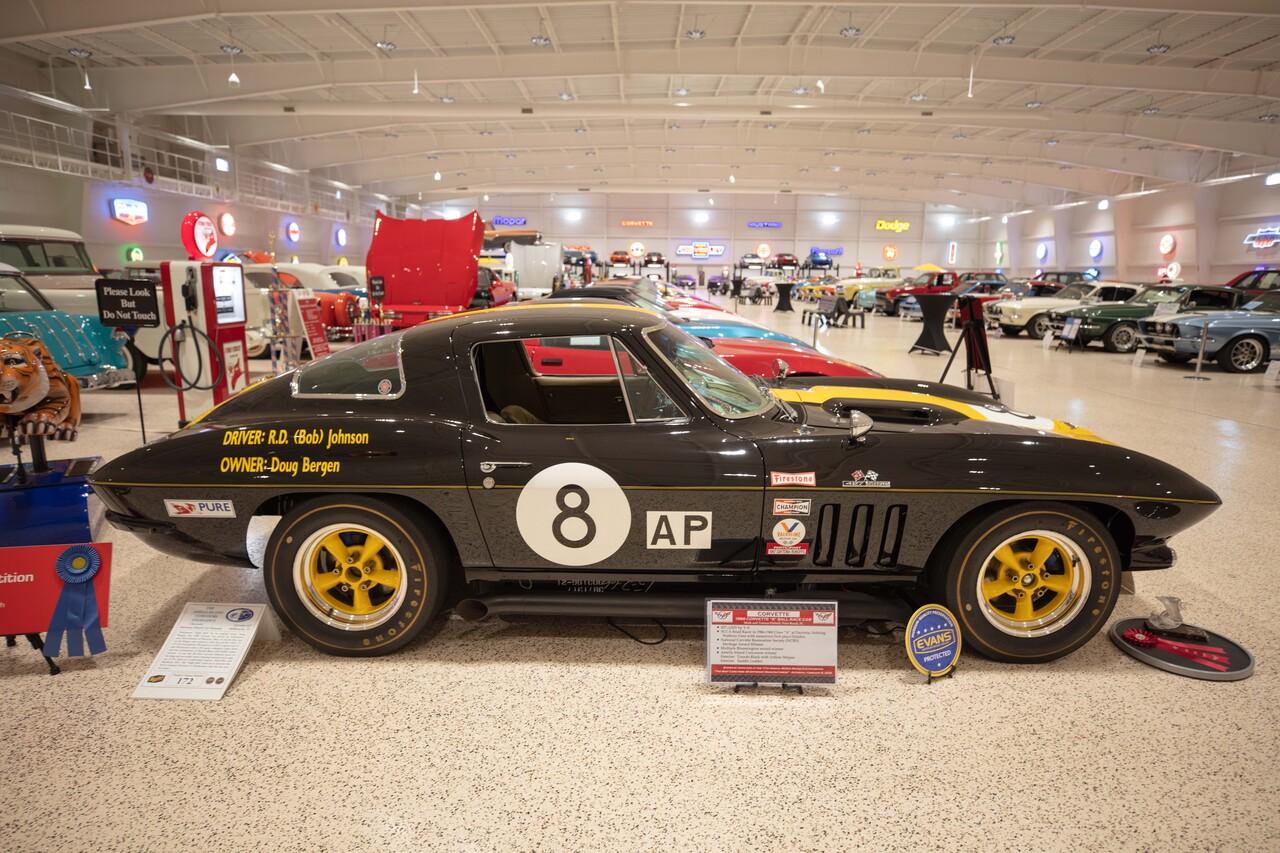 1966 Chevrolet Corvette 427 SCCA Road Racer Bergen & Johnson 'Eight