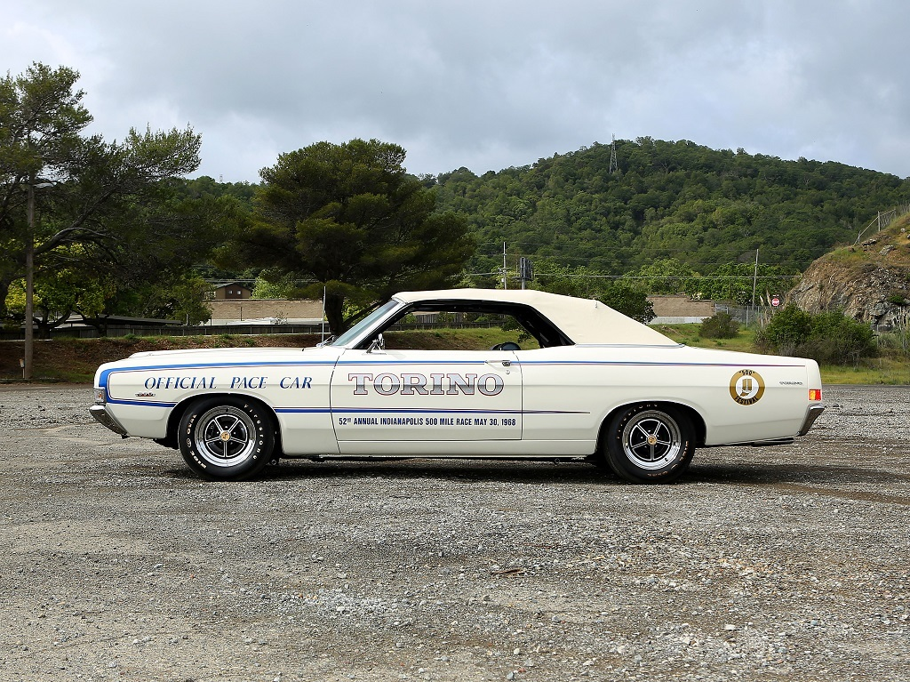 1968 ford torino gt indy pace car