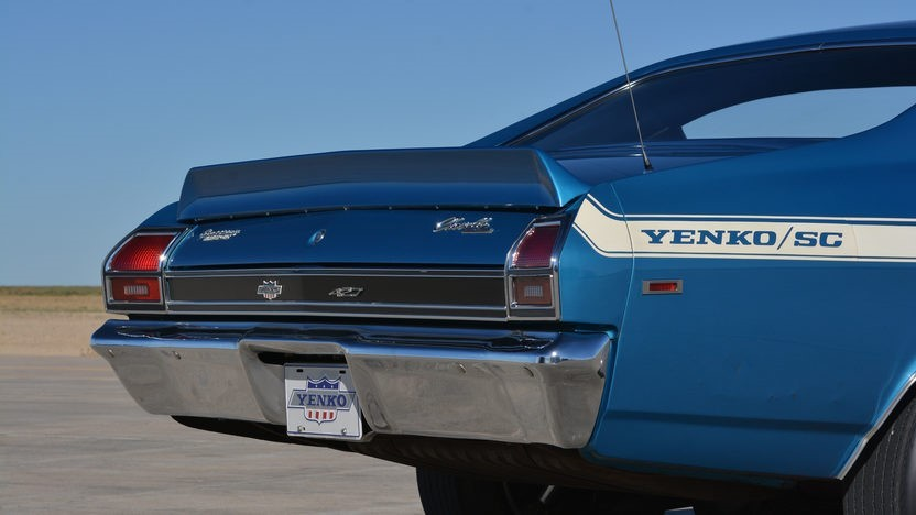 Old Chevy Cars >> 1969 Chevrolet Chevelle Yenko