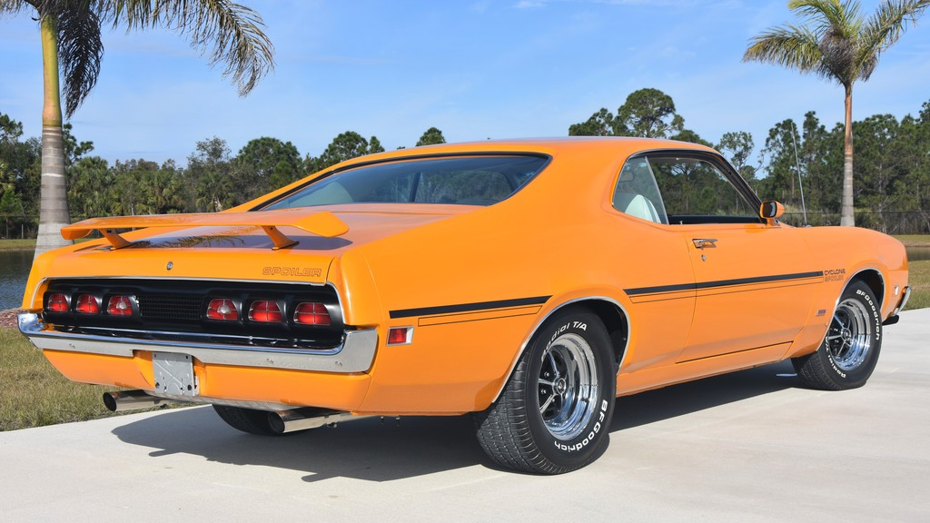mercury cyclone spoiler  super cobra jet