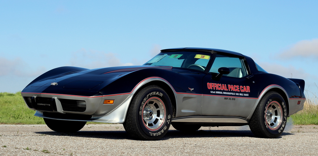 Chevrolet Corvette Indy Pace Car on Cadillac 350 Engine