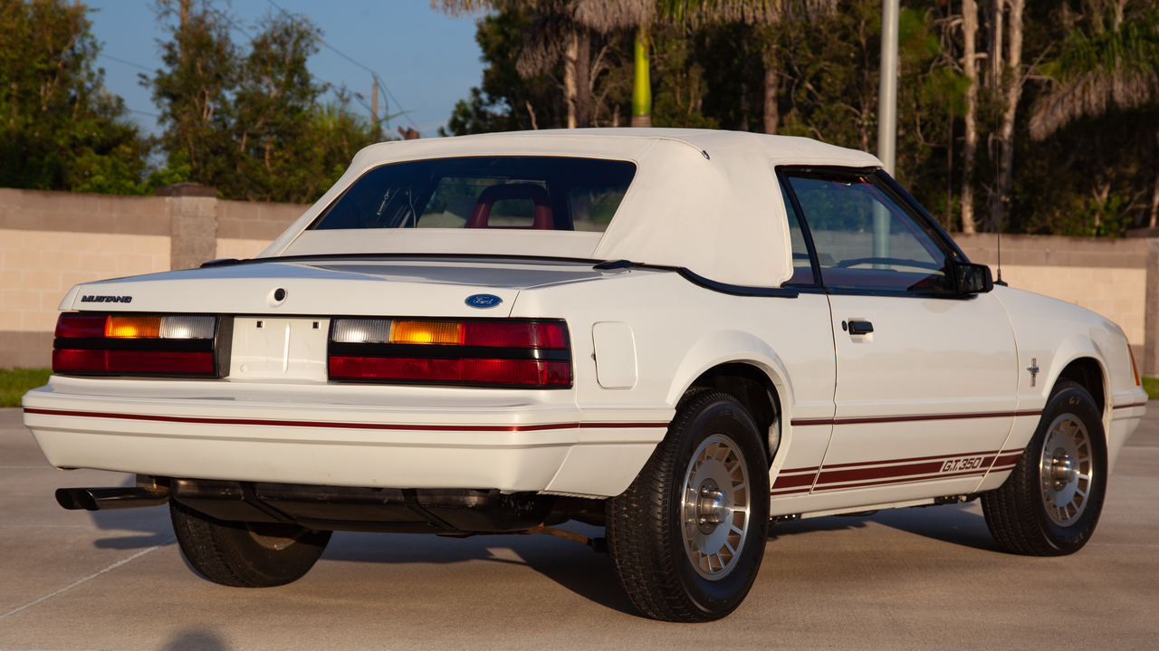 Mustang 5.0 Hp >> 1984 Ford Mustang GT350 20th Anniversary Edition