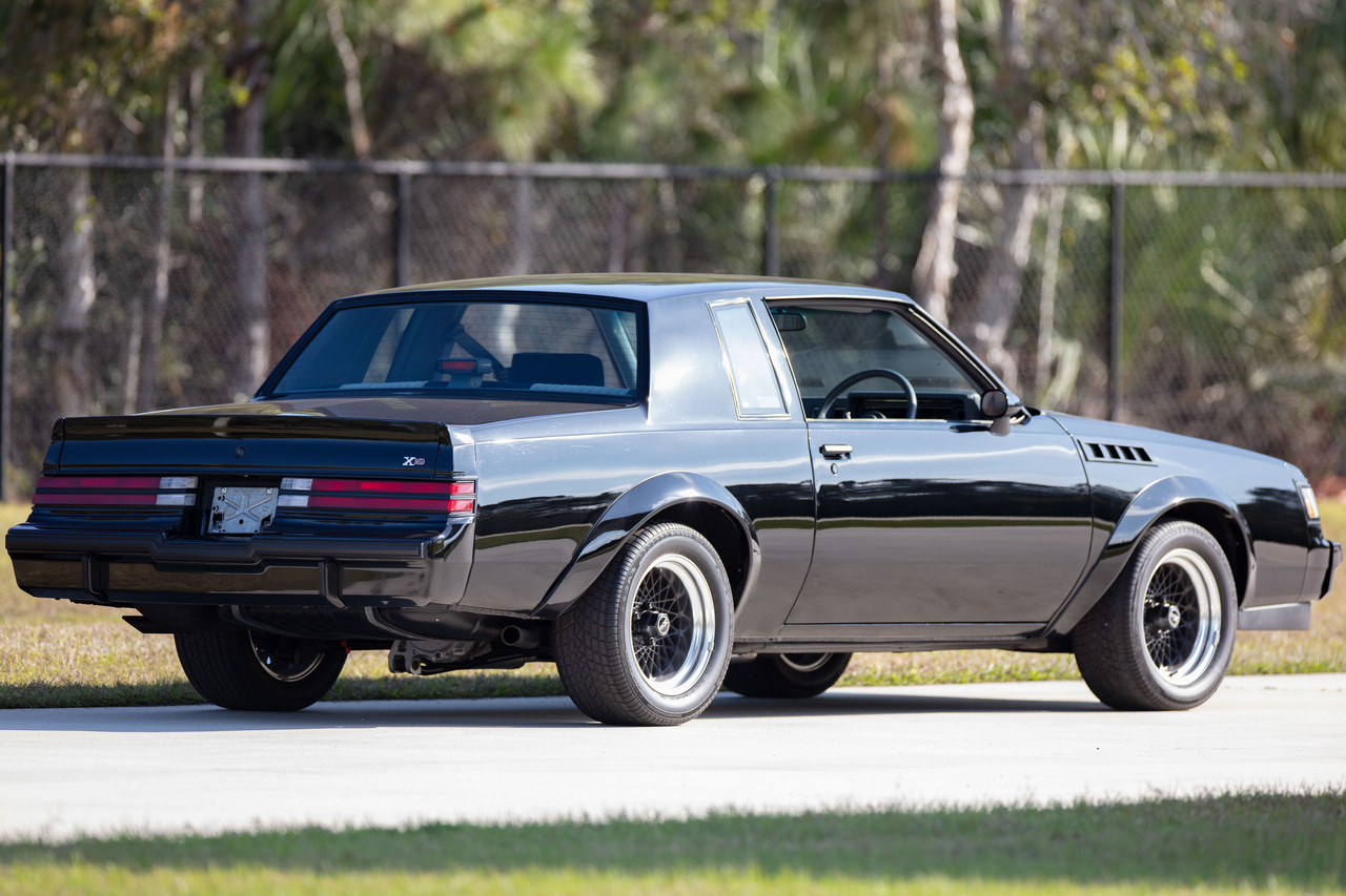 Buick Grand National Gnx For Sale >> 1987 Buick Grand National Regal Gnx