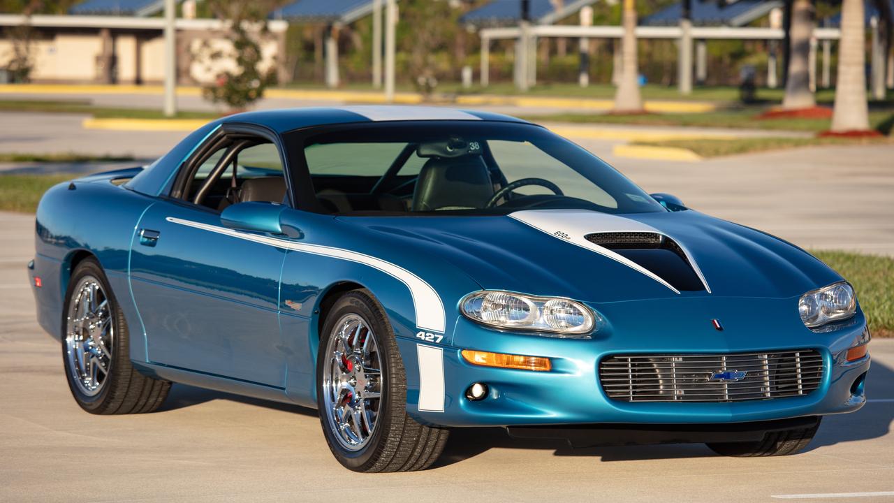 2002 Chevrolet Camaro Zl1 Supercar Factory Test Prototype Gmmg
