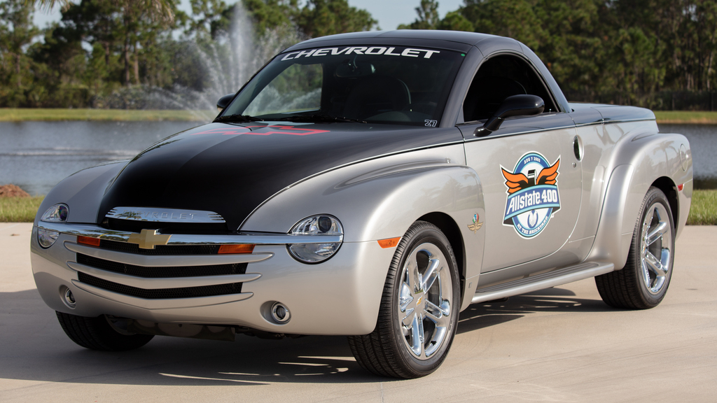 Ford Shelby Truck >> 2006 Chevrolet SSR Brickyard Pace Truck