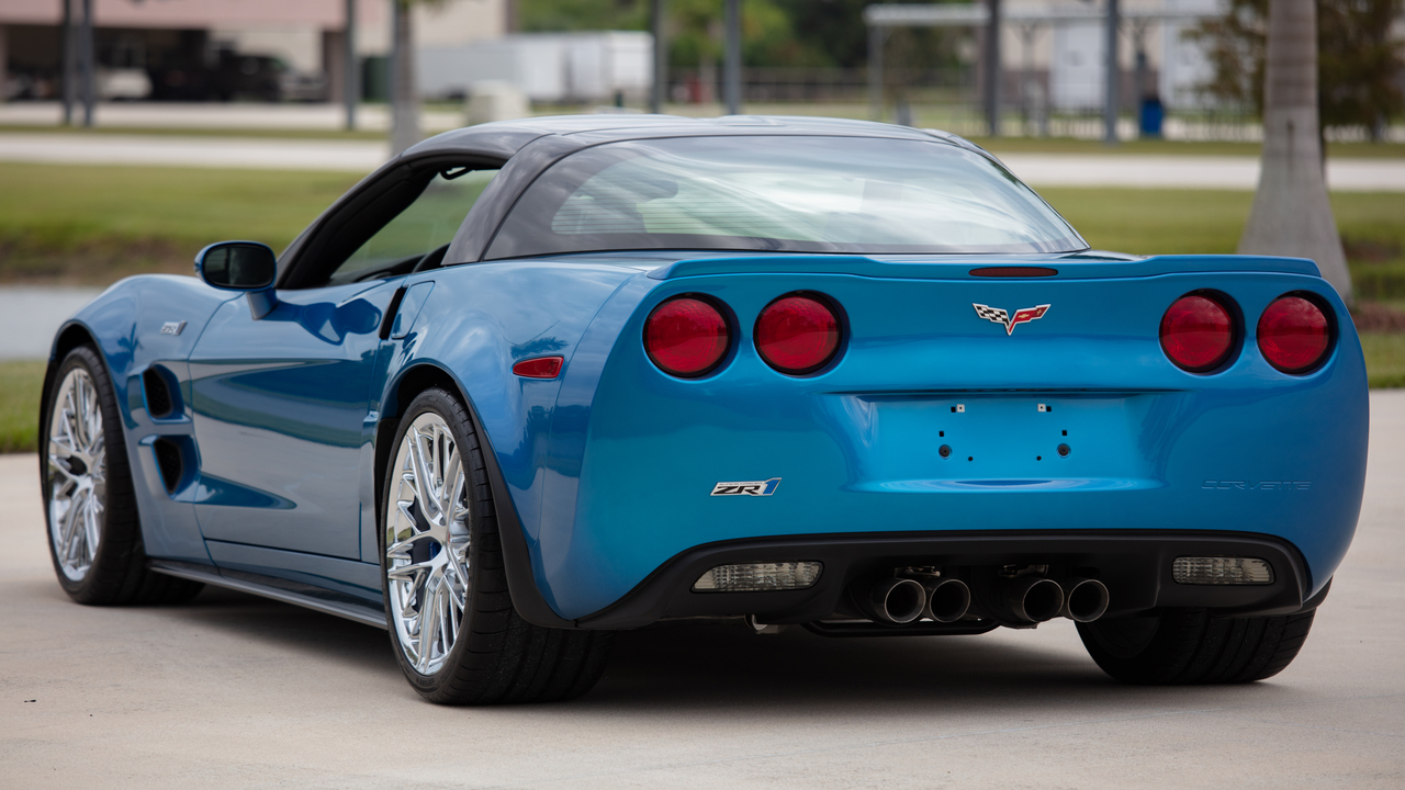 chevrolet corvette zr