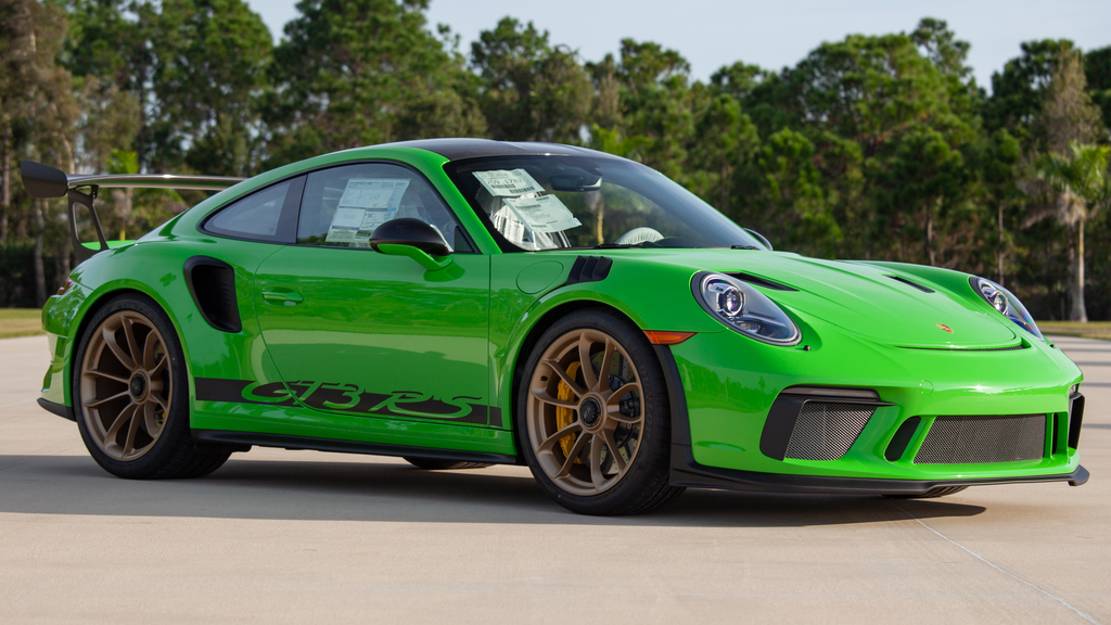 2019 Porsche GT3 RS Weissach Edition