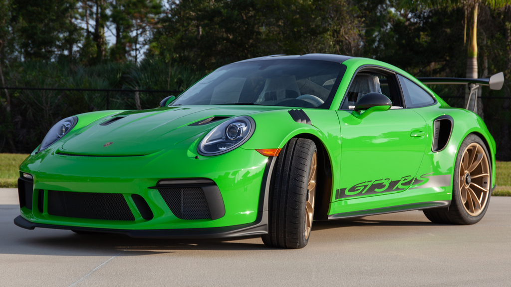 2019 Porsche GT3 RS Weissach Edition