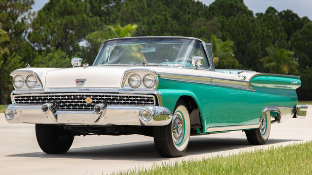 1959 Ford Fairlane Galaxie Skyliner