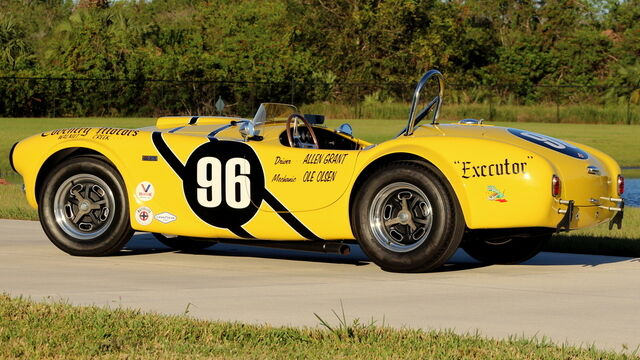 "1963 Shelby Cobra CSX 2703 ""Allen Grant Car"""