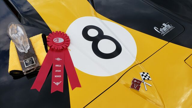 1966 Chevrolet Corvette 427 SCCA Road Racer Bergen & Johnson 'Eight Ball' Car