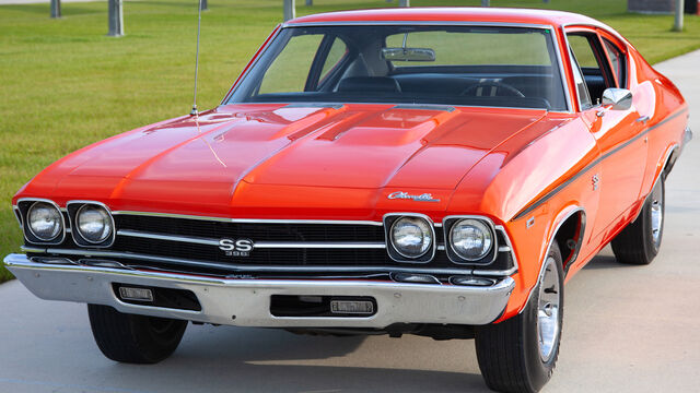 1969 Chevrolet Chevelle COPO 300 SS L78 Post