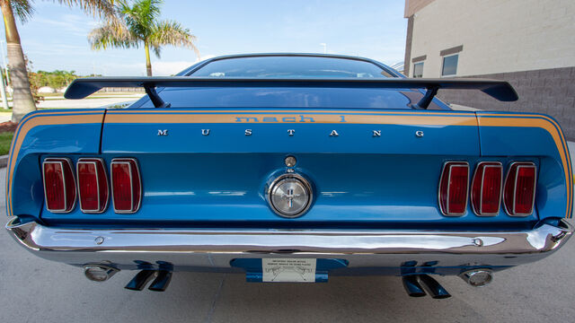 1969 Ford Mustang Mach I