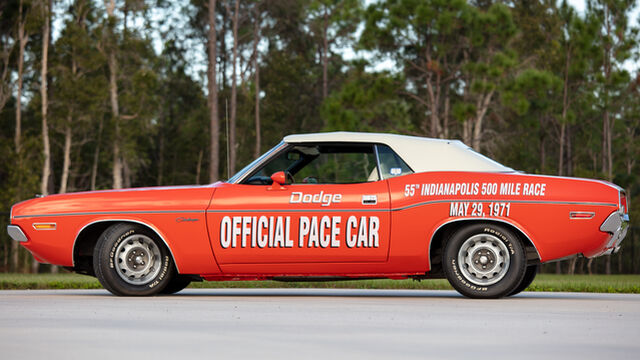 1971 Dodge Challenger Indy 500 Pace Car