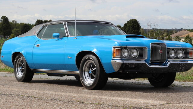 1971 Mercury Cougar XR7 429 Cobra Jet