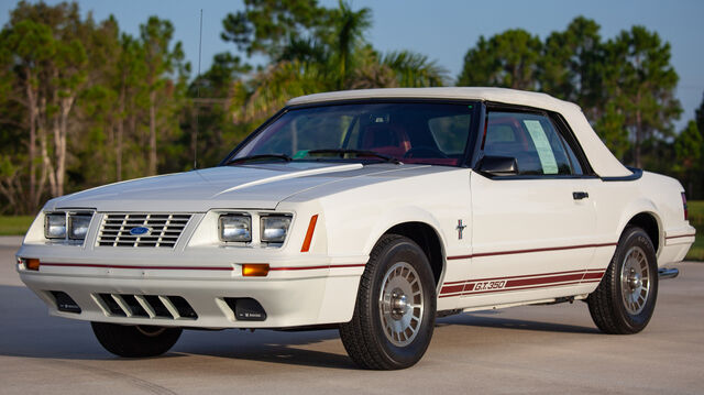 1984 Ford Mustang GT350 20th Anniversary Edition