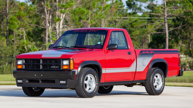 1989 Dodge Shelby Dakota Pickup