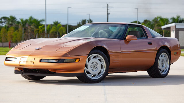 1992 Chevrolet Corvette Factory Paint Test Prototype