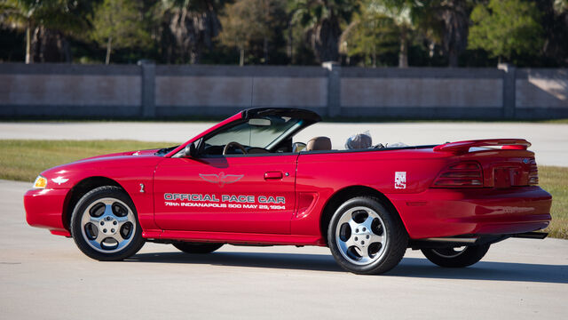 1994 Ford Mustang SVT Cobra Indy Pace Car
