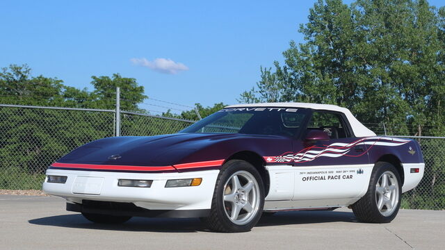 1995 Chevrolet Corvette Indy Pace Car