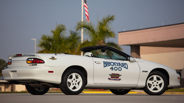 1997 Chevrolet Camaro Z28 30th Anniversary Brickyard Pace Car