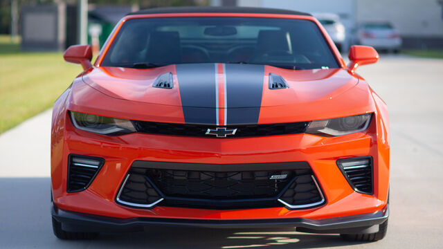 2018 Chevrolet Camaro Hot Wheels Festival Pace Car