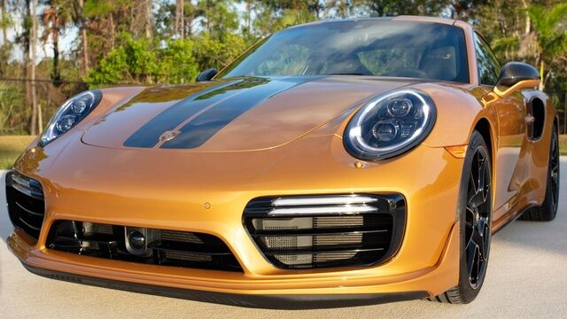 2018 Porsche 911 Exclusive Turbo S