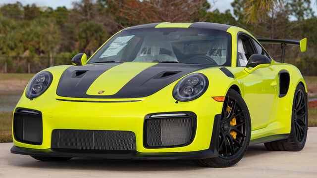 2018 Porsche GT2 RS Weissach Package