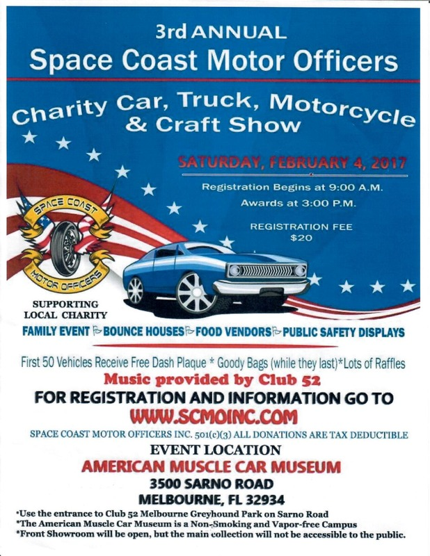 Ford Shelby Truck >> Space Coast Motor Officers Charity Car, Truck, Motorcycle ...