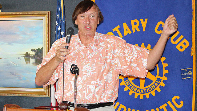 Indialantic Rotary Club Luncheon at Eau Gallie Yacht Club