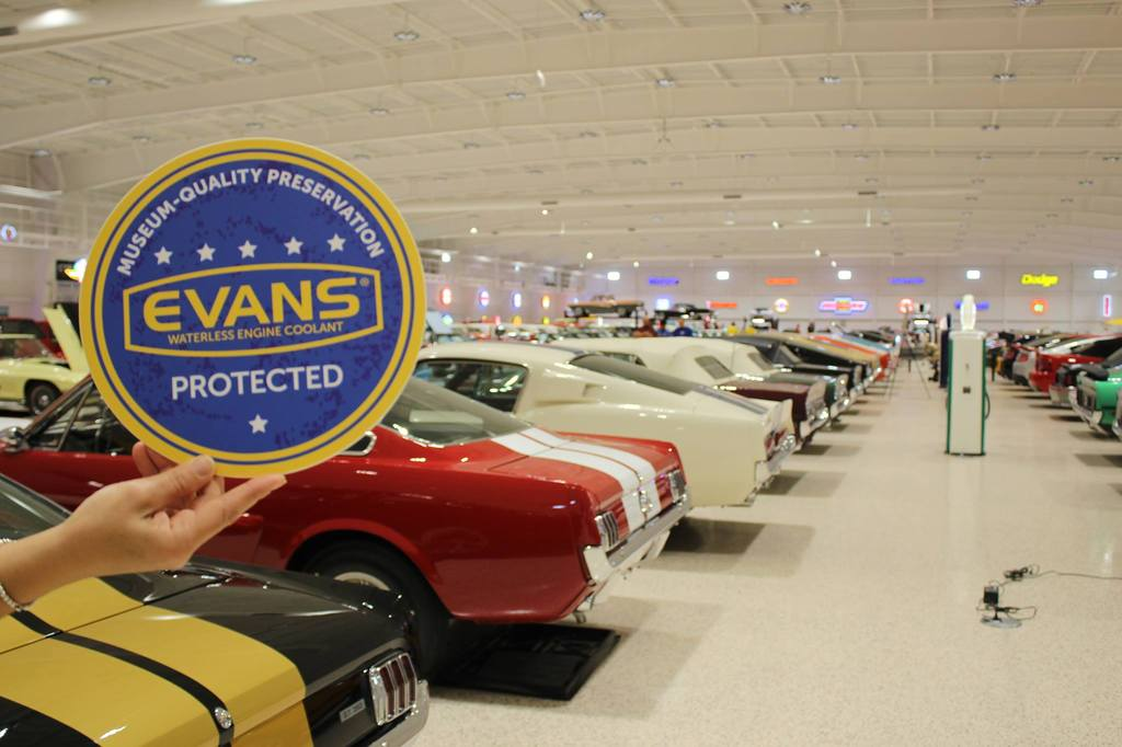 Evans Waterless Coolant provides museum-quality preservation