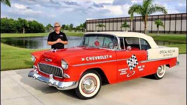1955 Chevrolet Bel-Aire Pace Car