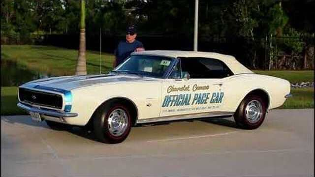 1967 Chevrolet Camaro Indy Pace Car