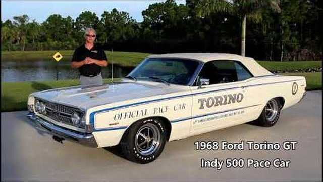 1968 Ford Torino Indy Pace Car