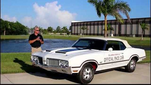 1970 Olds 442 Indy Pace Car