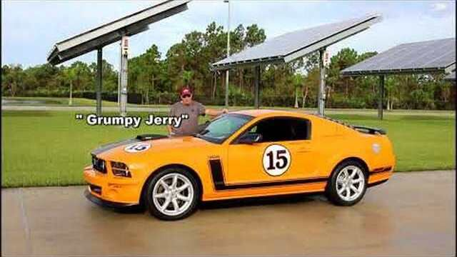 2007 Ford Mustang Saleen Parnelli Jones Special Edition